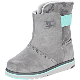 Sorel Kids Rylee Boots Quarry/Dolphin